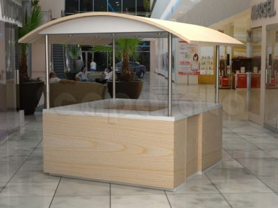 Food kiosks maker for comercial sale | Scaparato Retail