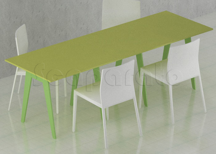 Fabrica de mesas para restaurante es elegante y moderna.